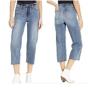 Kut From The Kloth Charlotte Cropped Blue Jean. 12